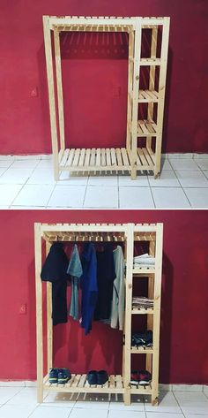Storing with pallet ideas is always fun and ease. People create more stuff on pallet storage ideas with latest of pallet wall fittings and cabinets. Wooden Pallet Projects, Wooden Pallet Furniture, Wooden Pallets, Pallet Ideas, Pallet Wood, Pallet Designs, Pallet Bar, Rustic Furniture, Pallet Storage