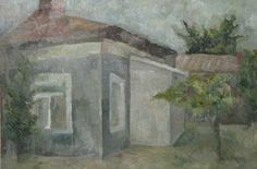 A house in Bucharest.  Oil tehnique. Artist: Simona Zalinca