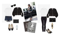 """The little black jacket"" by looby1991 ❤ liked on Polyvore featuring Topshop, Chanel, Tiffany & Co., Steidl, Ray-Ban, rag & bone/JEAN, Gucci, A.P.C. and Manolo Blahnik"
