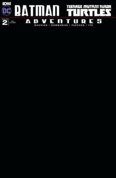 DYNAMIC FORCES® - BATMAN TEENAGE MUTANT NINJA TURTLES ADVENTURES #2 DYNAMIC FORCES EXCLUSIVE COVER BY KEN HAESER!