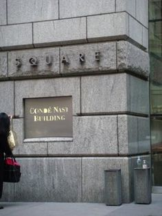 The Conde Nast building at 4 Times Square. Conde Nast publishes Vogue, Vanity Fair and The New Yorker.