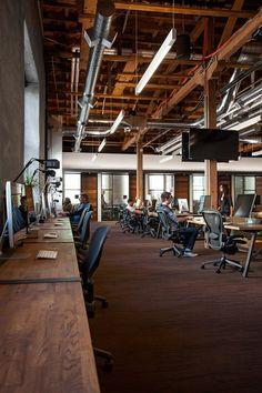 GitHub SF Headquarter Office, San Francisco, CA Office Space Design