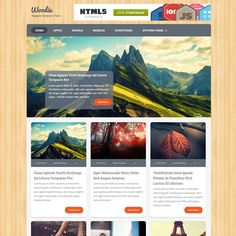 Woodie Responsive Magazine WordPress Theme | WordPress Theme Download