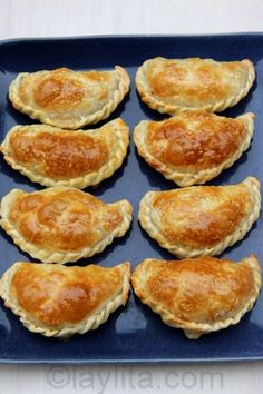 Empanadas de champiñones y queso al horno