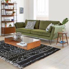Image Watford Glass Top Coffee Table La Redoute Interieurs