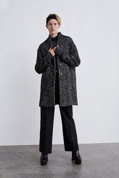 Novi zimski komadi koji su stigli u omiljene high street trgovine Coats 2018, Herringbone Coat, Chevrons, Aw 2018, Zara Women, Maternity, Dressing, Normcore, Long Sleeve