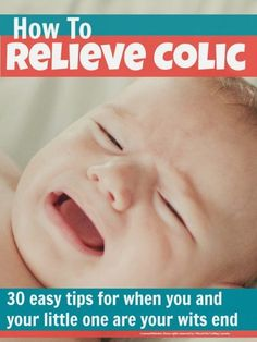Top tip to help reduce colic in babies from mums whose little ones really suffered with it. We've put together a list of things that can work