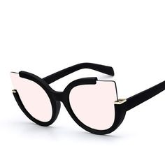 A fun bold and rounded oversize frame that utilizes a cat eye silhouette shape that is inspired by the bohemian chic from the '60s and '70s. Send a bold fashion statement out into the world of modern