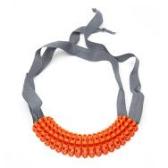 Merletto.. Cool 3d printed necklace from Italy.Join the 3D Printing Conversation: http://www.fuelyourproductdesign.com/