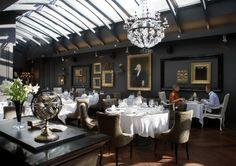 Hotel Talegraaf, Tallin, Estonia. The amazing restaurant!