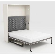 armoire lit escamotable space sofa canap int gr couchage 160 20 200 cm chambre petite. Black Bedroom Furniture Sets. Home Design Ideas