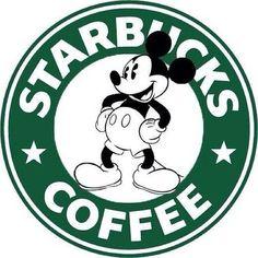 Mickey Mouse Starbucks Logo