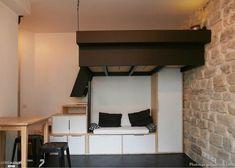 Studio 18m², Paris, LM2 - architecte