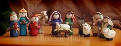 Nativity of the month club--secretly deliver one piece of the nativity each month during the year