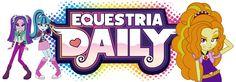 Equestria Daily Banner: Rainbow Rocks by ImperfectXIII.deviantart.com on @DeviantART