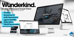 Wunderkind - One Page Parallax Drupal 7 Theme  -  https://themekeeper.com/item/cms-themes/wunderkind-one-page-parallax-drupal-7-theme