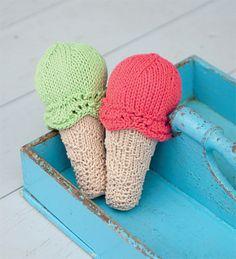 Icecream Rattle pattern by Mel Clark