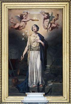 Cathédrale Notre-Dame-de-l'Assomption de Montauban - Couronnement de sainte Philomène - Jules Jolivet PM82000423 - Philomena - Wikipedia