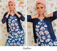 Jasmin casual hijab fashion   Just Trendy Girls