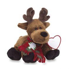 Peluche de Navidad Rudolph personalizado