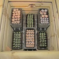 Kiln Tetris - using stackable 'bead boxes' to fire ceramic beads
