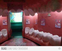Why do I LOVE this idea as a dental office waiting room?! Haha :] or play room?!? Eek!! Hahaha so creative.