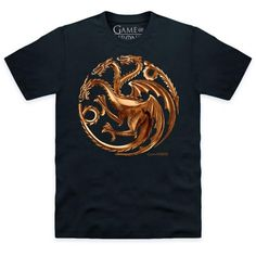 T-PAITA - GAME OF THRONES - TARGARYEN BRONZE LOGO - Stuntman.fi 19,90e XL
