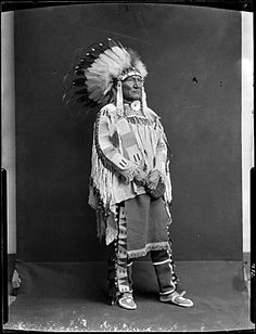 """Photograph by Richard Throssel of """"Cuts the Bear's Ears,"""" a member of the Crow tribe, circa Indian Tribes, Native American Tribes, Native American History, Native Indian, Crow Indians, Cowboys And Indians, Crow Photos, Indian People, Mountain Man"""