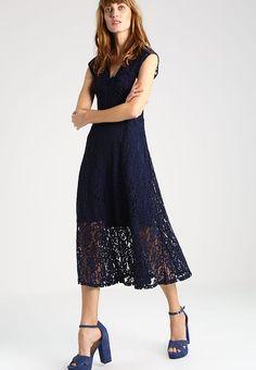 Bestill  Anna Field Fotsid kjole - peacoat for kr 479,00 (10.05.17) med gratis frakt på Zalando.no