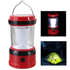 Sale 11% (8.75$) - Rechargeable Solar Powered Handheld Lantern Lamp Light Torch For Outdoor Camping