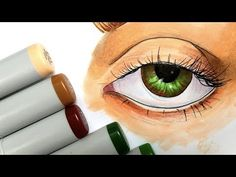 marker easy drawings copic draw beginners markers drawing eyes tutorial colorful visit tips sketch tutorials