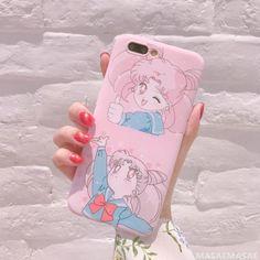 Pink sailor moon iphone case SE11101