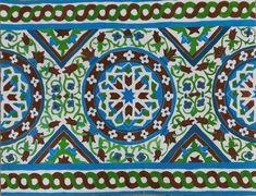 El alumnado de 4º de ESO ha trabajado la geometría y la pintura a través de la reproducción de azulejos de los Reales Alcázares de Sevilla. Realizados con témpera sobre cartulina.