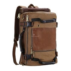 The Kaukko carry-on bag functions as backpack, shoulder bag, sports bag, camping pack or handbag is stylish, rugged and versatile. Made of heavyweight canvas it Satchel Backpack, Canvas Backpack, Travel Backpack, Travel Bags, Messenger Bag, Bike Bag, Luggage Bags, Utah, Laptop