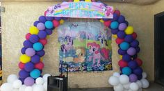 My Little Pony Balloon Arch/Photo Booth