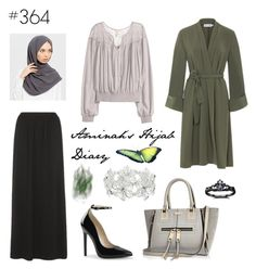 """#364 Bring Back"" by aminahs-hijab-diary ❤ liked on Polyvore featuring M&Co, River Island and Fidelity"