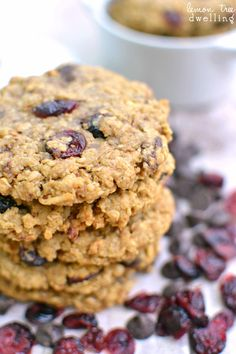chocolate cranberry coconut monster cookies flourless chocolate ...