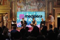 """""""#4X4 La forza motrice dell'innovazione"""", questo è il titolo del talk tenuto da Carlo Infante, Antonino Saggio, Annibale D'Elia, Federico Garcea, Mauro Rotelli."""