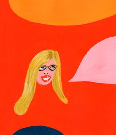 The Jealous Curator interviewed on @littleyellowcouch #podcast >> Portrait by Martha Rich
