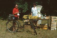 Bananenkauf am Strand der Freundschaft in Wünsdorf 1990