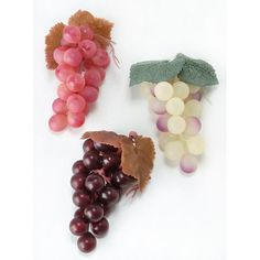 Bulk Buy: Darice DIY Crafts Grape Cluster Assorted Colors 4 inches (36-Pack) DC-1799 -- You can find more details by visiting the image link.