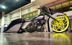 Bike of the day built by Kurtz Customs #baggermilitia