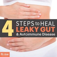 Leaky Gut - Dr.Axe. What changes to make and how to heal it!