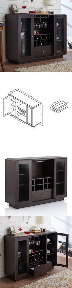 Sideboards and Buffets 183322 White Buffet Cabinet Storage