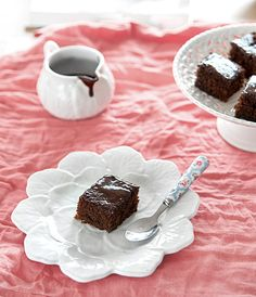 Bolo de chocolate e gengibre