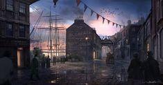 Victorian Harbour by stayinwonderland on DeviantArt