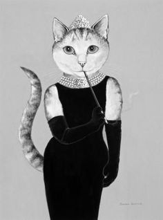 Audrey Hepburn ;-)                                                                                                                                                                                 Plus