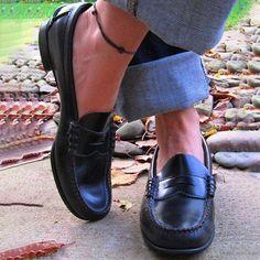 307216e2416 Laddytopia Women Vintage Slip On Loafers Low Heel PU Leather Shoes –  nananova