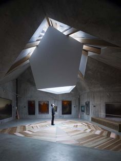 Mecenat Art Museum / Naf Architect - eVolo | Architecture Magazine