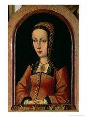 Queen Juana of Castile, Sister of Catherine of Aragon Joanna Of Castile, Catherine Of Aragon, Tudor, Genealogy, Royalty, Sisters, England, Queen, Artwork